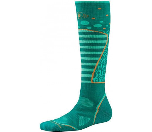 Soseste SmartWool W PhD Ski Medium Pattern Dark Spearmint