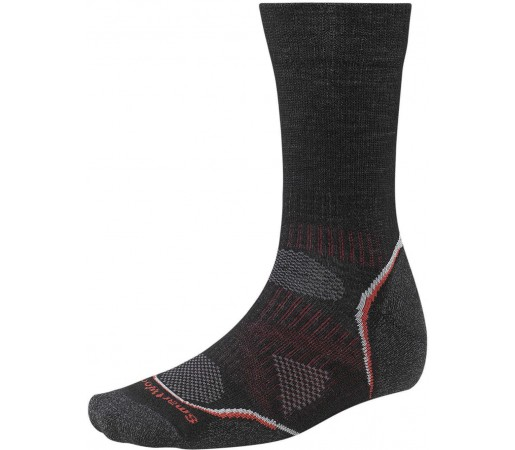 Sosete SmartWool Men's PhD Outdoor Light Crew Socks Black/Red