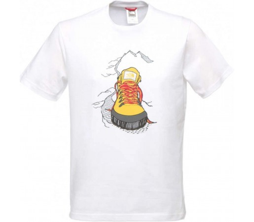 Tricou The North Face Back To Berkley Alb