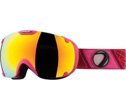 Ochelari Ski si Snowboard Dye T1 Sirmiq Magenta