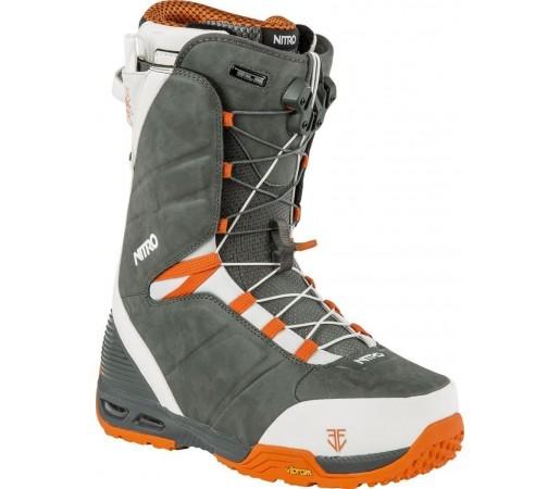Boots Snowboard Nitro Team TLS Eero Gri/Portocaliu 2015