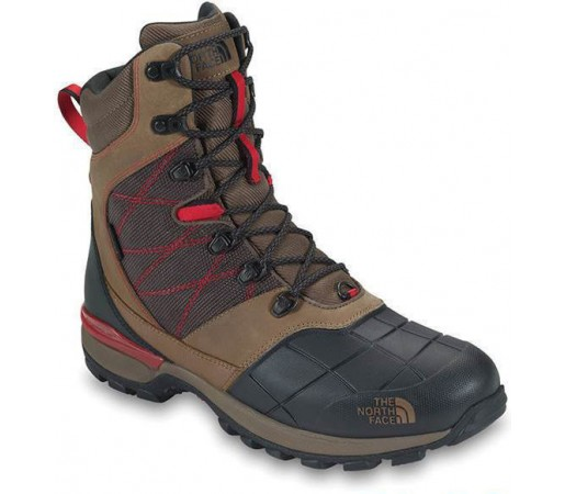 Incaltaminte The North Face Snowsquall Tall Brown- Black- Red