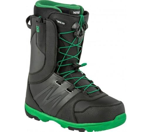 Boots Snowboard Nitro Thunder TLS Negru/Verde 2015