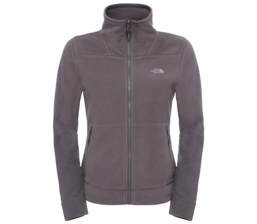 Polar The North Face W 200 Shadow Full Zip Gri