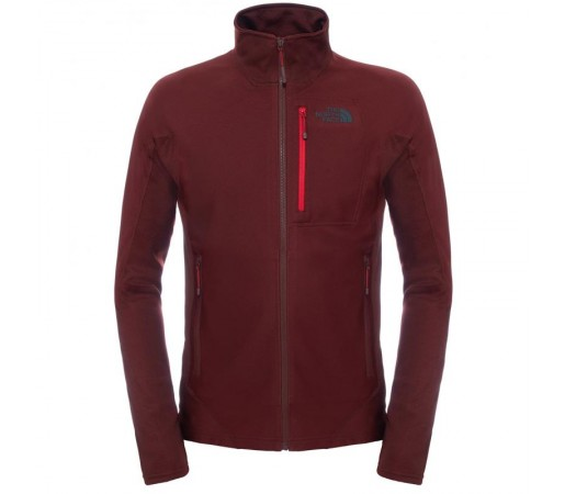 Polar The North Face M Fuseform Dolomiti Full Zip Rosu