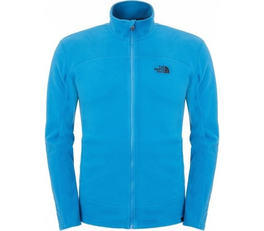 Midlayer The North Face M 100 Glacier Full Zip Albastra