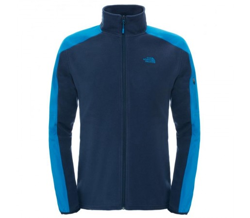 Polar The North Face M Glacier Delta Full Zip Albastru