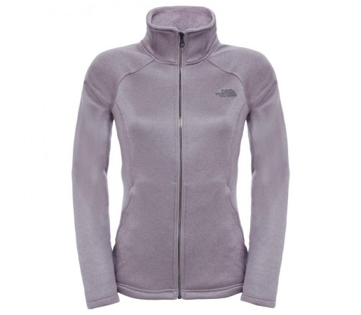 Bluza The North Face W Agave Full Zip Gri
