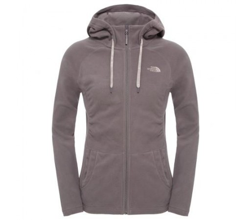 Hanorac The North Face W Mezzaluna Full Zip Gri