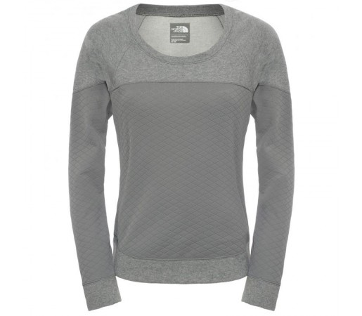 Bluza The North Face W Recover-up Crew Gri