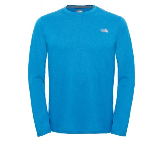 Bluza The North Face M Reaxion Amp L/S Crew Albastra