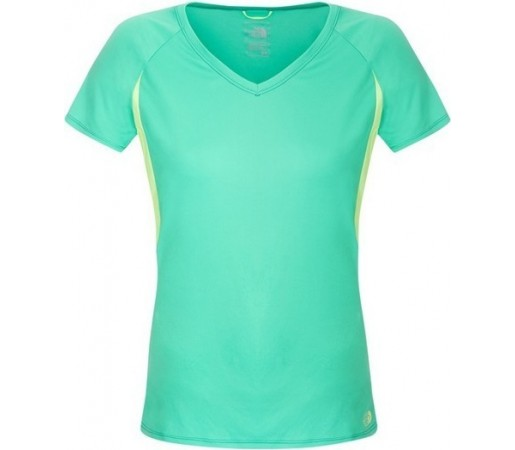 Tricou The North Face W Reflex V-Neck S/S Verde