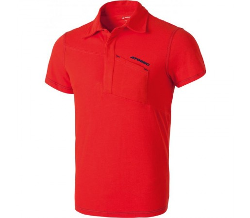 Tricou Atomic M Alps Polo Rosu