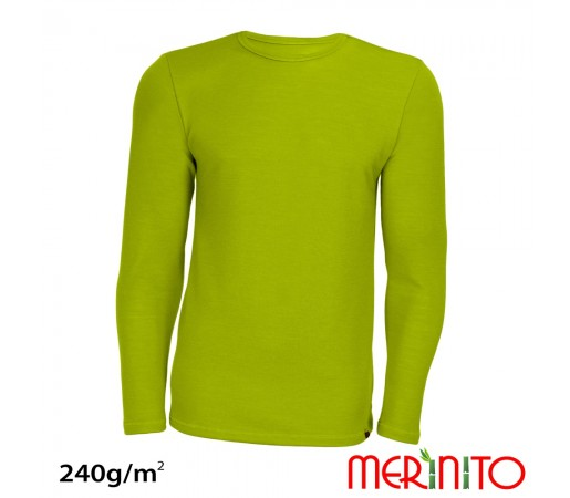 Bluza First Layer Merinito/ Bambus Barbati Lime