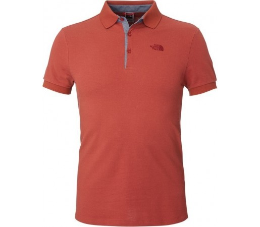 Tricou The North Face M Premium Polo Piquet Rosu