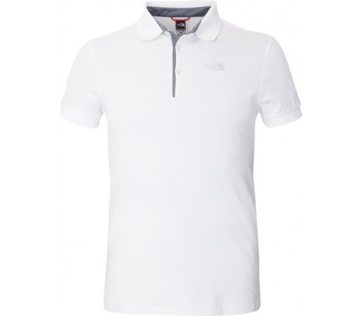 Tricou The North Face M Premium Polo Piquet Alb
