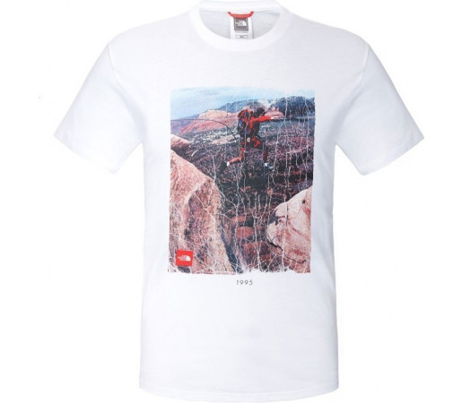 Tricou The North Face M S/S Adventure Page Alb