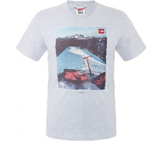 Tricou The North Face M S/S Adventure Page Gri