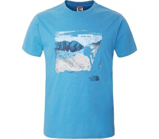 Tricou The North Face M S/S Mountaineering Albastru