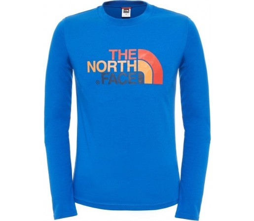 Bluza The North Face Y L/S Easy Albastra