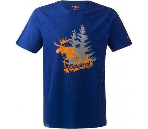 Tricou Bergans Elk Albastru