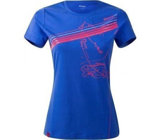 Tricou Bergans Explorer Lady Blue