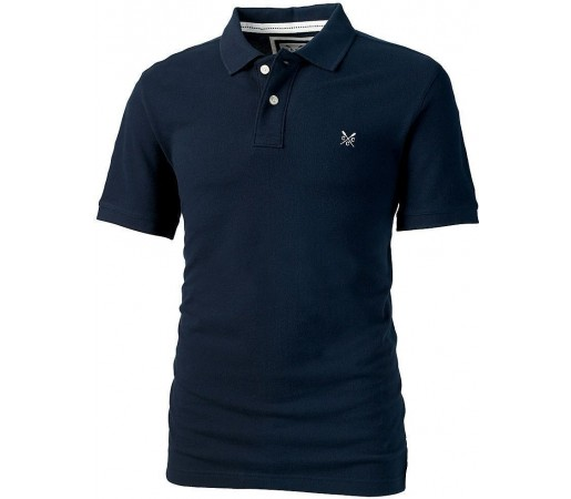 Tricou Crew Clothing Classic Polo Navy