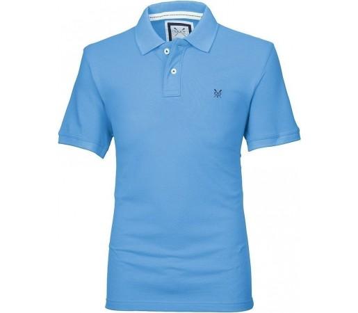 Tricou Crew Clothing Classic Polo Sky