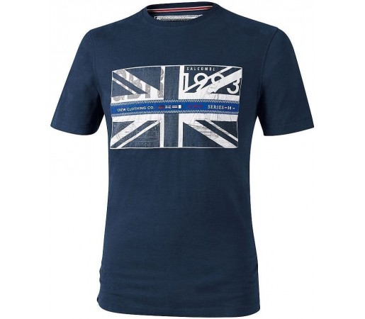Tricou Crew Clothing GBR Flag Navy
