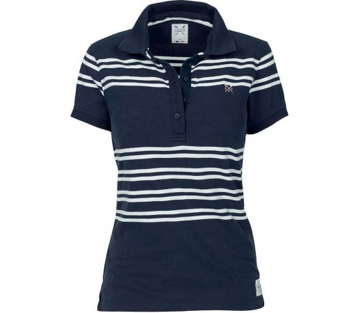Tricou Crew Clothing Modern Polo Navy