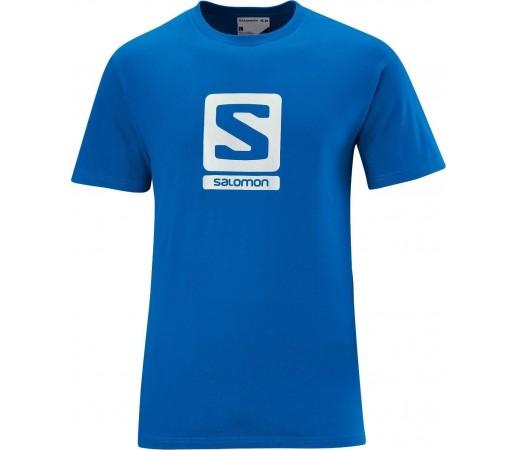 Tricou Salomon Poly Logo Tee M Blue 2013