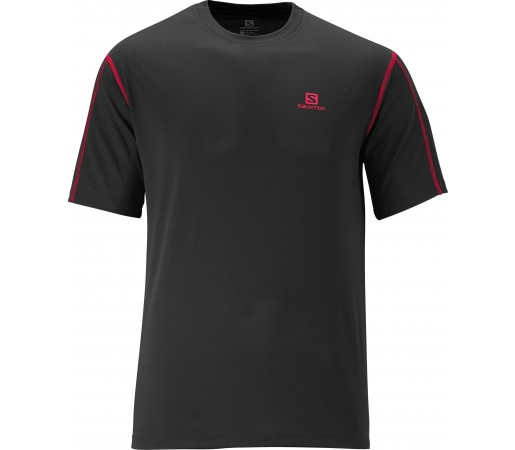 Tricou Salomon Moto Tech Tee M Black