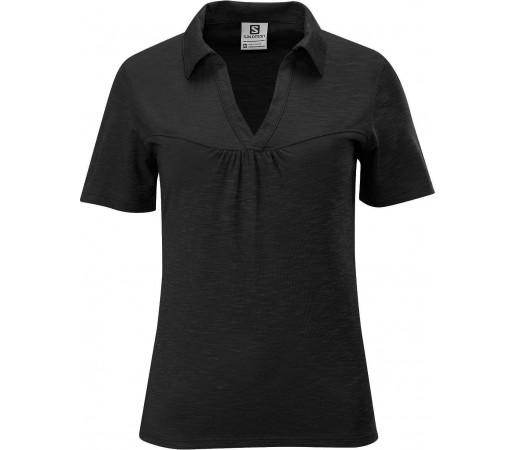 Tricou Salomon Mountain Polo W Black  2013