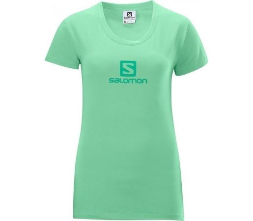 Tricou Salomon Polylogo Tee W Green