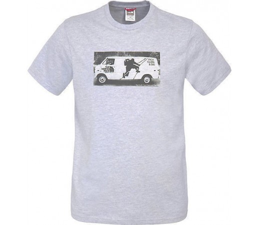 Tricou The North Face Company Car Grey