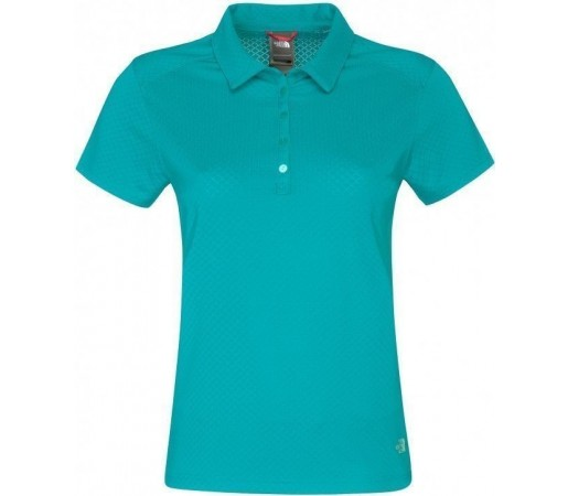 Tricou The North Face W Deva Polo Jaiden Green