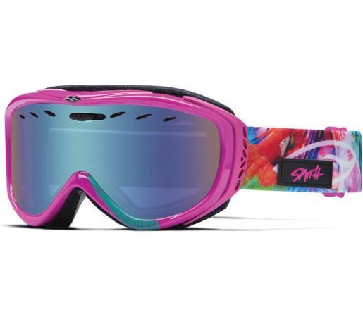 Ochelari Schi si Snowboard Smith CADENCE Magenta Tropidelic / Blue Sensor mirror