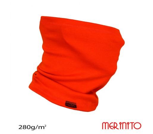 Neck tube Merinito 280g/mp Portocaliu
