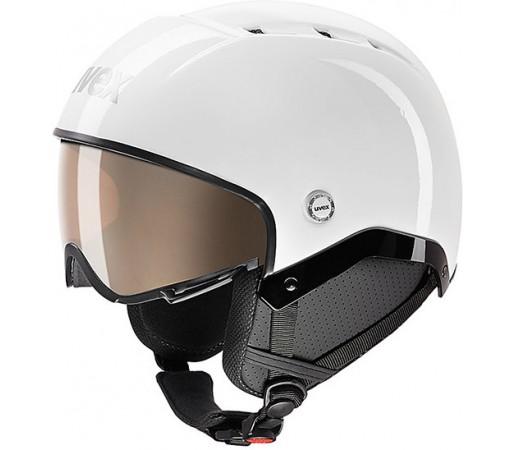 Casca Schi si Snowboard Uvex Aosta Vario Alba