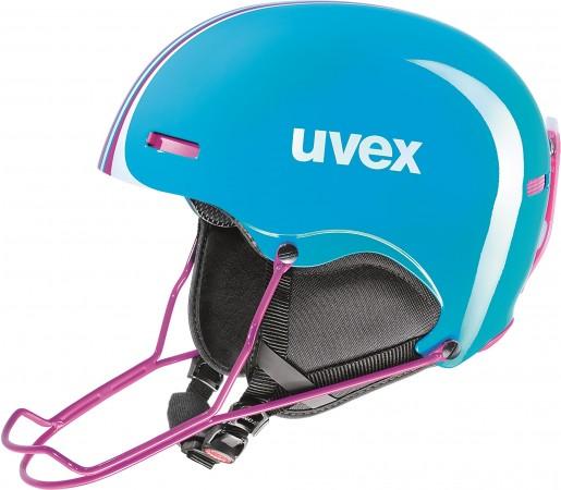 Casca Schi si Snowboard Uvex Hlmt 5 Junior Race Albastra