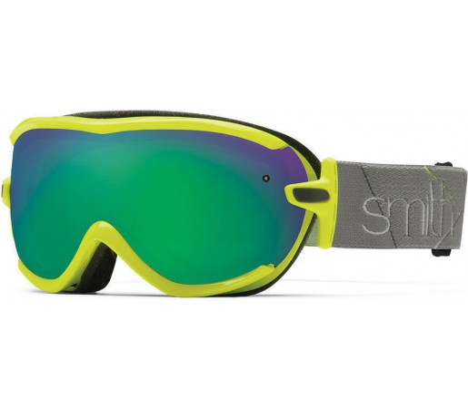 Ochelari Schi si Snowboard Smith Virtue SPH Acid Prism / Green Sol-X mirror