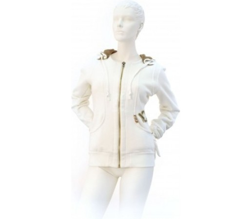 Hanorac Volkl Hooded Sweat Jacket Yard Sale White