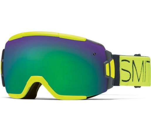 Ochelari de schi si snowboard Smith Vice Acid Block/Green Sol-X Mirror