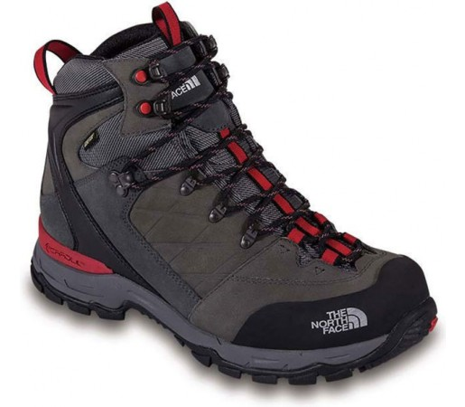 Incaltaminte hiking The North Face M Verbera Hicker II GTX Gri/Rosu