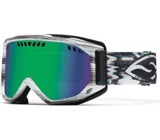 Ochelari Schi si Snowboard Smith SCOPE PRO Vertical Hold / Green Sol-X mirror
