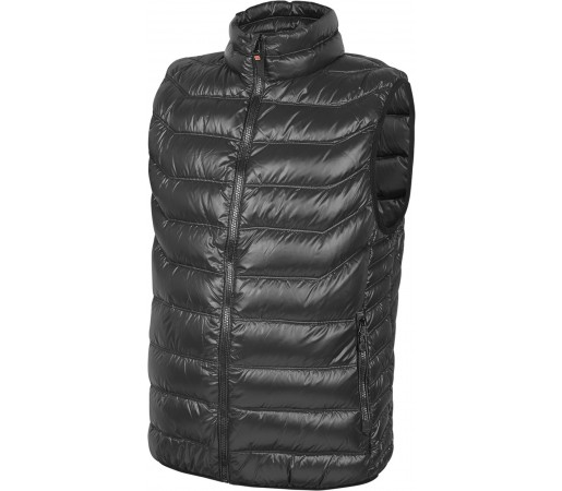 Vesta Brekka Holiday Down Vest Man Neagra