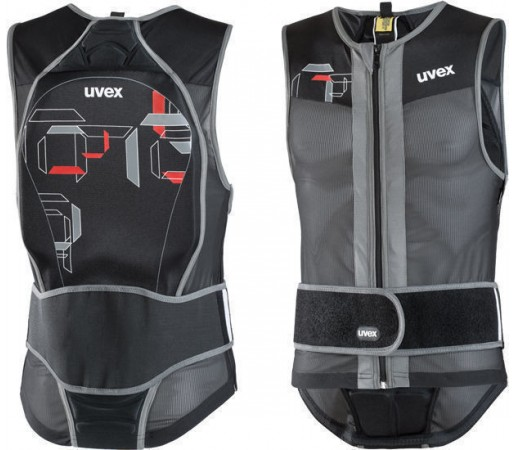 Vesta protectie Ski si Snowboard Uvex Men Vest Level 1 Black- Grey