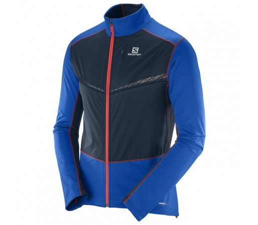 Jacheta Salomon Vision Ss Jacket M Albastra/ Neagra