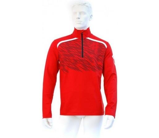 Midlayer Volkl Black Jack Zip Shirt Red