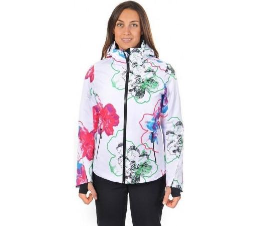 Geaca Schi si Snowboard Volkl Silver Star White Flower Print